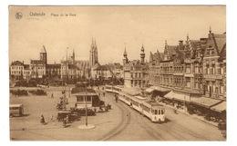 BELGIQUE - OSTENDE Place De La Gare - Oostende