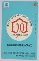 Non Aligned Summit 140 Units - Indonesia
