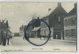 Kapellen - Capellen : Zicht In 't Dorp  (  Hoelen 3385 :  Jaar 1909 ) Zie Scans - Kapellen