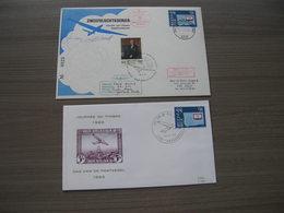 BELG.1980 1970 FDC & FDC 1°zweefvluchtkoerier In Belgie - Airmail