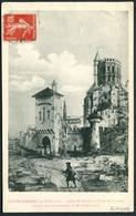 Castelsarrazin Au XVIIe S - Eglise St-Sauveur D'après Une Reconstitution De M. Gilbert Arch. - Voir 2 Scans - Castelsarrasin