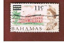 BAHAMAS - MI. 242 -   1966 HOSPITAL (OVERPRINTED)  - USED° - Bahamas (1973-...)