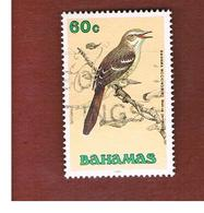 BAHAMAS - SG 902  -   1991 BIRDS: BAHAMA MOCKINGBIRD - USED° - Bahamas (1973-...)