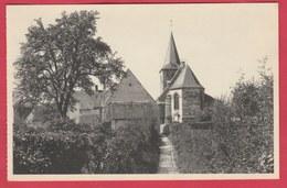 Ragnies - Le Chevet Du Choeur De L'église Et La Grande Ruelle ( Voir Verso ) - Thuin