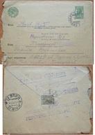 Envelope Russia  Ukraine Advertising Population Census Kiev 1937 - 1923-1991 URSS