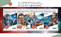 Togo  2018  Alan Shepard Astronaut S201807 - Togo (1960-...)
