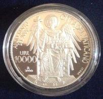 VATICANO 2000 LIRE 10000 ANNO SANTO ARGENTO PROOF - Vaticano