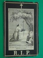 Burgemeeste Franciscus Michiels - Vermeylen Geboren Te  Keerbergen 1820 En Overleden   1868  (2scans) - Religion & Esotericism