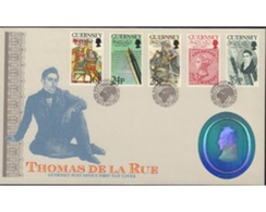 Ref. 385018 * MNH * - GUERNSEY. 1993. 200th BIRTH ANNIVERSARY OF THE PRINTER THOMAS DE LA RUE . 200 ANIVERSARIO DEL NACI - Guernsey