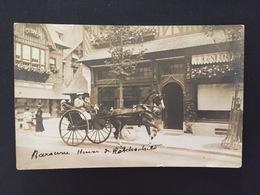 Carte Photo Baronne De Rotchschild à Trouville - Femmes Célèbres