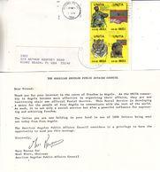 Angola - Militaires - Tigres - Lettre De 1986 - Lettre Des Rebelles Pour L'indépendance De L'Angola - Très Rare - - Angola