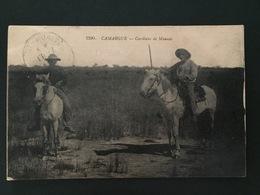CPA Camargue Gardians De Manade - France