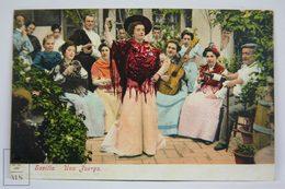 Postcard Spain - Sevilla - Una Juerga - Seville Typical Spanish Party - Tomas Sanz - Purger & Co. - Sevilla