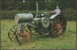 International Harvester Co Titan 10/20 Tractor - Hunday Postcard - Postcards
