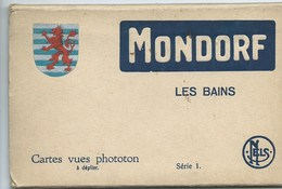 Mondorf Les Bains 2 Carnets  Omplets Série 1 Et 2 - Mondorf-les-Bains