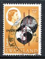 Swaziland 1968 Independence - ½c Swazi Shields Used (SG 142) - Swaziland (1968-...)