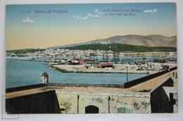 Postcard Spain - Palma De Mallorca - General View Of Port - Puerto - Ed. AM - Palma De Mallorca