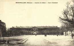 Militaria MONTPELLIER (Hrault) Caserne Du Genie Cour D'Honneur RV - Montpellier
