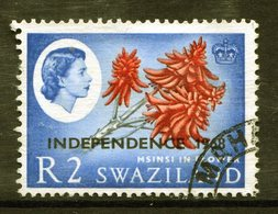 Swaziland 1968 Independence - 2r Msinsi In Flower - Wmk. Upright - Used (SG 158) - Swaziland (1968-...)