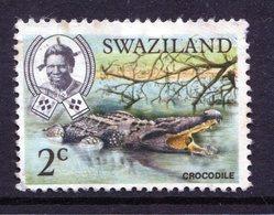 Swaziland 1969 Wildlife - 2c Crocodile - P.13 X 12½ - Used (SG 163) - Swaziland (1968-...)