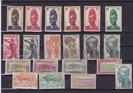 CAMEROUN :  Y&T : Lot De 20 Timbres  O Et * - Cameroun (1915-1959)