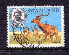 Swaziland 1969 Wildlife - 7½c Impala Used (SG 167) - Swaziland (1968-...)