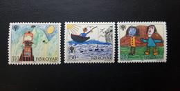 Faeroe Islands. 1979. Art. Children's Paintings - Faroe Islands
