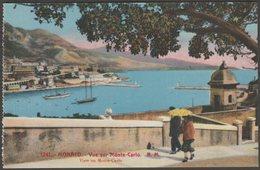Vue Sur Monte-Carlo, Monaco, C.1920s - Rostan Et Munier CPA - Monte-Carlo