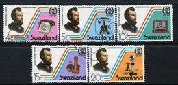 Swaziland 1976 Telephone Centenary Set Used (SG 263-267) - Swaziland (1968-...)