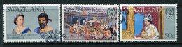 Swaziland 1977 Silver Jubilee Set Used (SG 268-270) - Swaziland (1968-...)