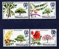 Swaziland 1978 Trees Of Swaziland Set Used (SG 285-288) - Swaziland (1968-...)