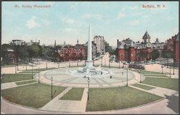 McKinley Monument, Buffalo, New York, C.1905-10 - Buffalo News Co Postcard - Buffalo