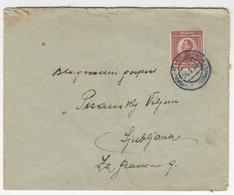 Kingdom SHS, Letter Cover Travelled 1924 Sv. Križ Pri Kostanjevici Pmk B180825 - 1919-1929 Königreich Der Serben, Kroaten & Slowenen