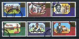 Swaziland 1981 Diamond Jubilee Of King Sobhuza II Set Used (SG 379-384) - Swaziland (1968-...)