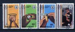 Swaziland 1981 25th Anniversary Of Duke Of Edinburgh Award Scheme Set Used (SG 385-388) - Swaziland (1968-...)