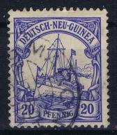 Deutsch Neu-Guinea: Mi 10 Obl./Gestempelt/used  MARON  RRR - Colonie: Nouvelle Guinée