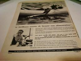 ANCIENNE PUBLICITE SON ALIMENTATION  CENTRE D ETUDE DE LA MARGARINE 1959 - Posters
