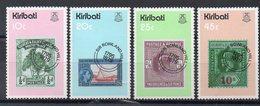 KIRIBATI Timbres Neufs ** De1979  (ref 5591 ) Timbres Sur Timbres - Kiribati (1979-...)