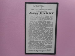 D.P.-EERWPATER JOZEF HARDY °TONGEREN 14-12-1872+KORTRIJK 14-12-1928 - Religion & Esotérisme
