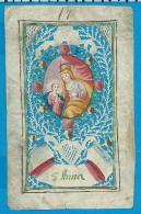 Holycard   Canivet    18. Century   Handpainted    St. Anna - Devotieprenten
