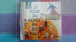 Marabout FLASH N° 32  Le Tour Du Monde En 80 Plats - Gastronomía