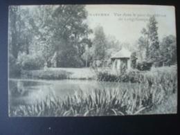 WAREMME : Vue Dans Le Parc Du Château De LONGCHAMPS,  En 1921 - Borgworm