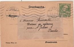 Autriche - Entier Postal Repiquage Tablettes De Marienbad - 1910 - Santé Médecine - Entiers Postaux