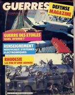 Guerres Et Conflits D'aujourd'hui  Malouines Afghanistan Rhodésie Zimbabwe Condor Harrier Chinook - Revues & Journaux