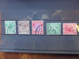 Malaya SERIE OBLITEREE (15) - Malayan Postal Union