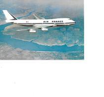 CARTE POSTALE BOEING 747 - Avions