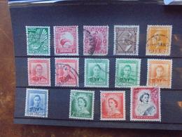 New Zealand SERIE OBLITEREE (18) - 1907-1947 Dominion