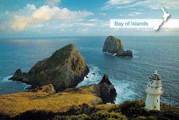 1 AK Neuseeland * Blick Zur Insel Piercy - Cape Brett Und Der Leuchtturm - Bay Of Islands * - Neuseeland