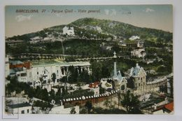Postcard Spain - Barcelona - Park Güell General View - Antoni Gaudi - Jorge Venini - Barcelona