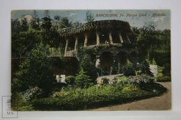 Postcard Spain - Barcelona - Park Güell Miranda - Antoni Gaudi - Jorge Venini - Barcelona